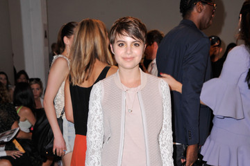 Sami Gayle Rebecca Taylor - Front Row - Mercedes-Benz Fashion Week Spring 2015