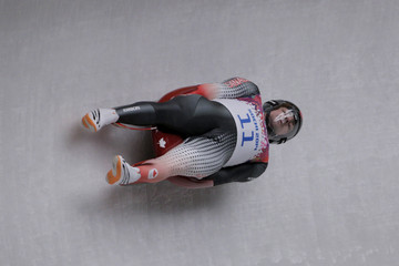 Samuel Edney Luge - Winter Olympics Day 1