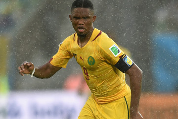 Samuel Eto'o Mexico v Cameroon: Group A