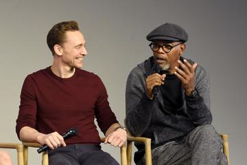 Samuel L. Jackson Apple Store Soho Presents The Cast Of 'Kong: Skull Island'