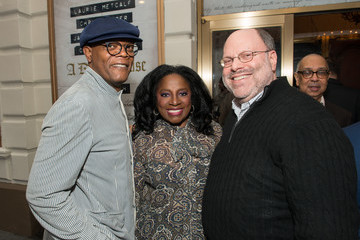 Samuel L. Jackson Latanya Richardson Opening Night on Broadway of Lucas Hnath's 'A Doll's House, Part 2' Starring Laurie Metcalf and Chris Cooper