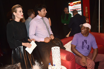 Samuel L. Jackson M. Night Shyamalan CinemaCon 2018 - Universal Pictures Invites You To A Special Presentation Featuring Footage From Its Upcoming Slate