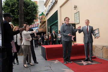 Samuel L. Jackson Christoph Waltz Honored on the Walk of Fame