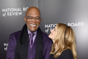 Samuel L. Jackson Celebs Attend the 2015 National Board of Review Gala