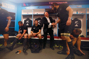 Samuel Whitelock South Africa v New Zealand - Semi Final: Rugby World Cup 2015