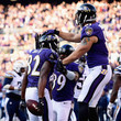 Owen Daniels Justin Forsett Photos