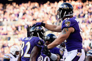 Owen Daniels Justin Forsett Photos Photo