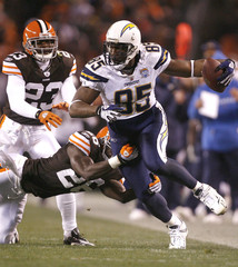 Hank Poteat San Diego Chargers v Cleveland Browns