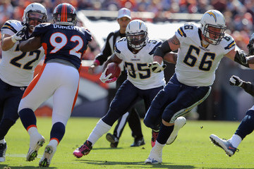Jeromey Clary San Diego Chargers v Denver Broncos