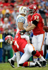 Mike Goff San Diego Chargers v Kansas City Chiefs