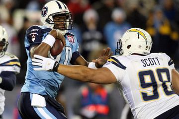 Ian Scott San Diego Chargers v Tennessee Titans