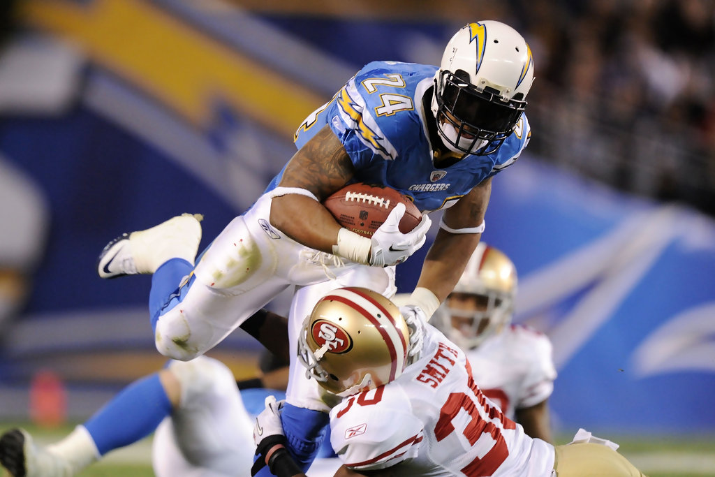 Ryan Mathews In San Francisco 49ers V San Diego Chargers