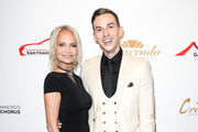 Kristin Chenoweth and Adam Rippon arrive at The San Francisco Gay Men's Chorus' 41st Season Crescendo Gala Fundraiser at The Fairmont on April 27, 2019 in San Francisco, California.