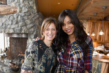 Sanaa Lathan Glamour's Cindi Leive and Girlgaze's Amanda de Cadenet Host Lunch Celebrating Films Powered by Women During Sundance - 2017 Park City