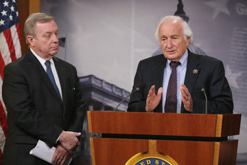 Sander Levin Democratic Senators Discuss Tax Legislation