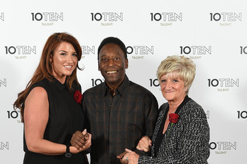 Sandra Beckham Launch of 10Ten Talent in London