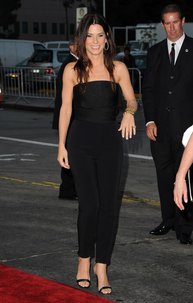 "Sandra Bullock Actress Sandra Bullock arrives at the premiere of Universal Pictures' ""The Change-Up"" held at the Regency Village Theatre on August 1, 2011 in Los Angeles, California."