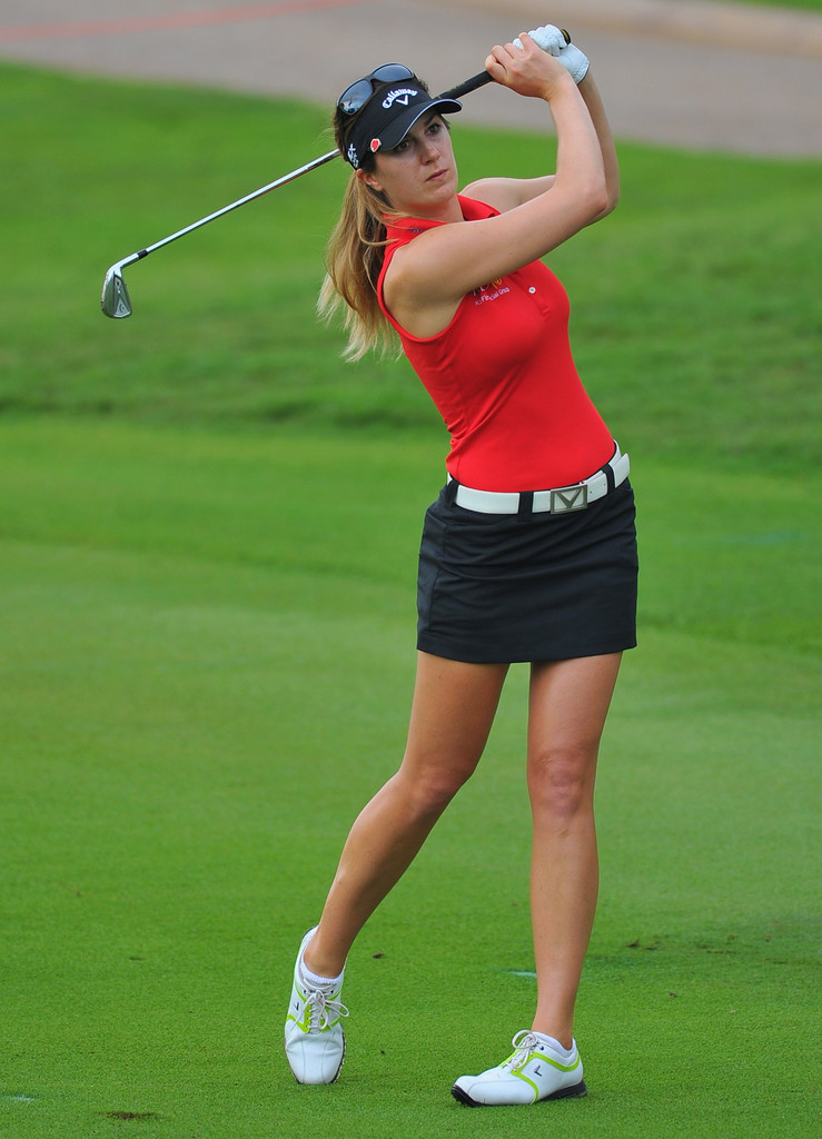 Is this female pro golfer's outfit too sexy for the green