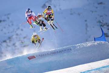 Sandra Naeslund FIS Freestyle Ski World Cup - Men's and Women's Ski Cross