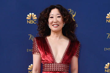 Sandra Oh 70th Emmy Awards - Social Ready Content