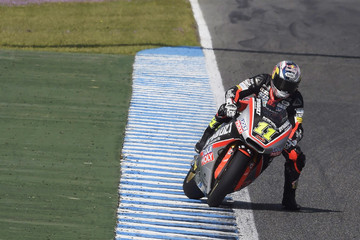 Sandro Cortese Moto2 and Moto3 Tests in Jerez: Day 2