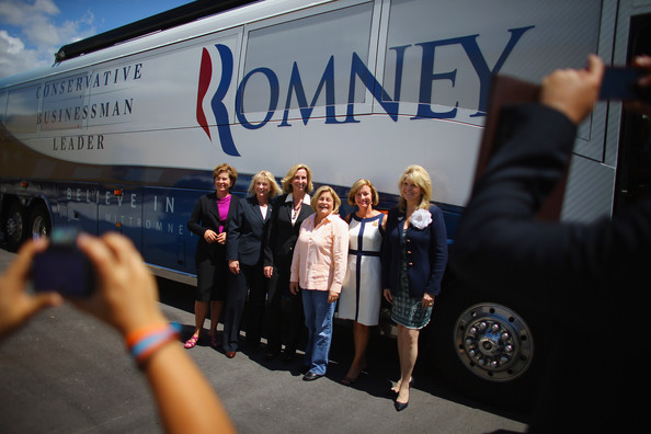 """Women For Mitt"" Launch Bus Tour Of Florida []"