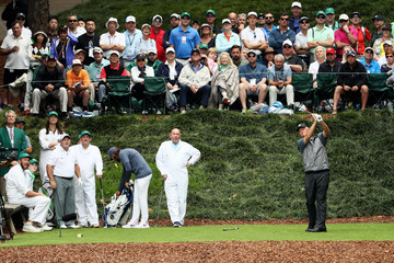 Sandy Lyle The Masters - Preview Day 3