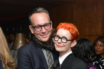 Sandy Powell Christopher Peterson Vanity Fair And Lancôme Toast Women In Hollywood In Los Angeles