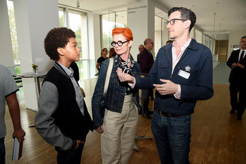 Sandy Powell Amazon Studios and Queens Museum Celebrate New Film 'Wonderstruck' With Lighting of Panorama of City of New York