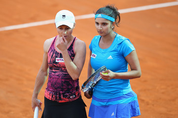 Sania Mirza The Internazionali BNL d'Italia: Day 3