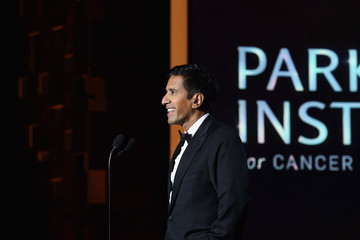 Sanjay Gupta Sean Parker and The Parker Foundation Launch The Parker Institute for Cancer Immunotherapy - Gala