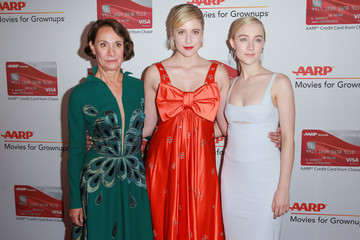 Saoirse Ronan Laurie Metcalf AARP's 17th Annual Movies For Grownups Awards - Arrivals