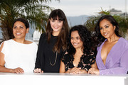 "Actresses Deborah Mailman,  Shari Sebbens, Miranda Tapsell and Jessica Mauboy  attend the ""The Sapphires"" Photocall during the 65th Annual Cannes Film Festival at Palais des Festivals on May 20, 2012 in Cannes, France."