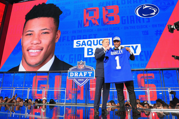 a5a7cbaf7 2018 NFL Draft. 2018 NFL Draft. In This Photo  Roger Goodell