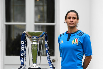 Sara Barattin RBS 6 Nations Launch