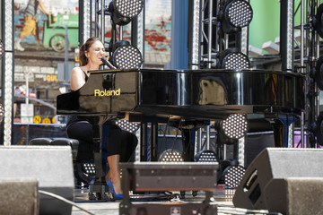 Sara Bareilles Let's Get This Show On The Street:  New 42 Celebrates NYC Arts Education