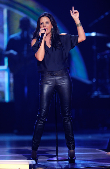 Sara Evans Singer Performs Onstage During The Th Annual