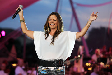Sara Evans A Capitol Fourth Independence Day Concert Rehearsals