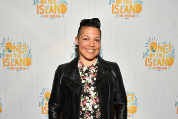 Sara Ramirez 'Once on This Island' Broadway Opening Night - Arrivals & Curtain Call