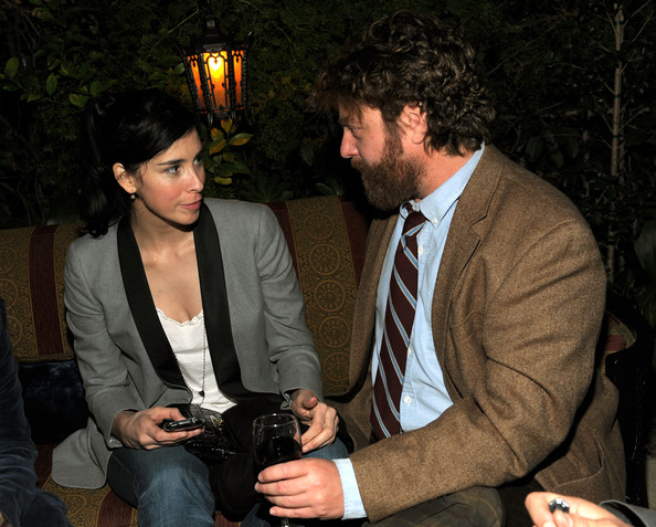 Sarah Silverman zach galifianakis