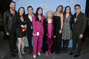 Sarah Babineau Teresa Hsiao Comedy Central's Awkwafina is Nora From Queens Premiere Party