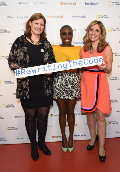 Theirworld Launches New Campaign #RewritingTheCode at the International Women's Day Breakfast at Facebook HQ in London