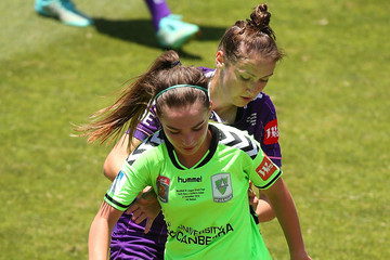 Sarah Carroll Grace Maher W-League Grand Final - Perth v Canberra