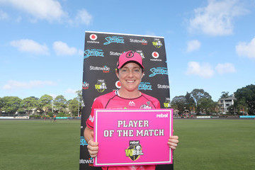Sarah Coyte WBBL - Sixers v Strikers