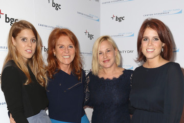 Sarah Ferguson Annual Charity Day Hosted By Cantor Fitzgerald And BGC - BGC Office - Arrivals