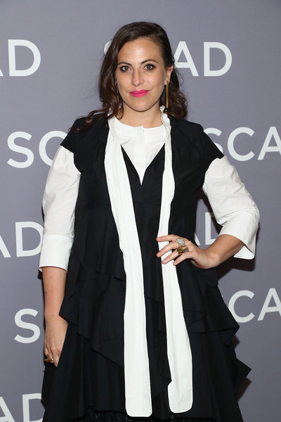 SCAD aTVfest 2018 - 'UnREAL' [unreal,press junket,clothing,fashion model,fashion,hairstyle,outerwear,formal wear,fashion design,long hair,event,dress,sarah gertrude shapiro,georgia,atlanta,scad atvfest]