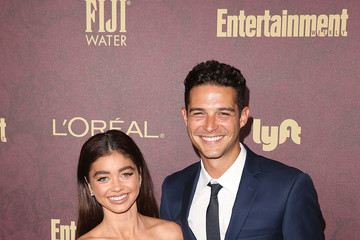Sarah Hyland Wells Adams FIJI Water At Entertainment Weekly Pre-Emmy Party