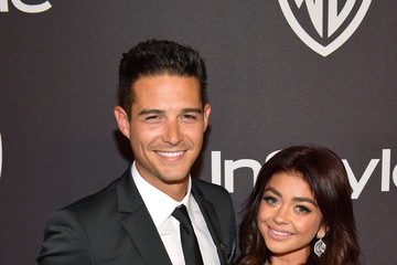 Sarah Hyland Wells Adams The 2019 InStyle And Warner Bros. 76th Annual Golden Globe Awards Post-Party - Red Carpet