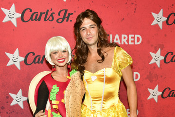 Sarah Hyland Wells Adams Stars Attend Just Jared's 7th Annual Halloween Party