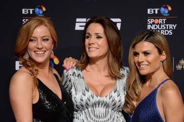 Sarah-Jane Mee BT Sport Industry Awards 2016